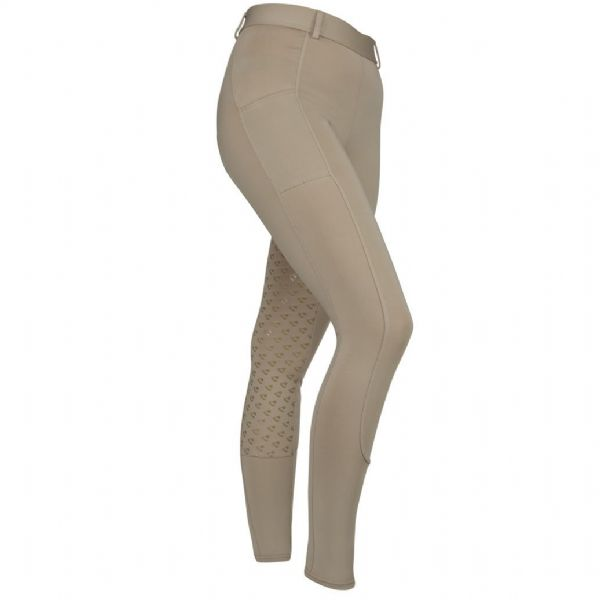 Shires Aubrion Albany Riding Tights - Maids Beige